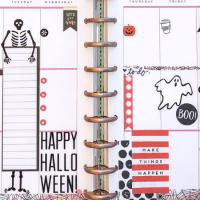 October 2018 Happy Planner Spreads