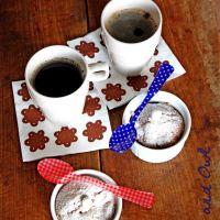 Muffin mele, pere e cioccolato