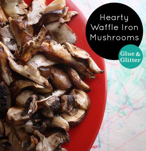 mushroom-recipe-waffle-iron