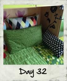 Il mio letto di giorno diventa finalmente un divano!