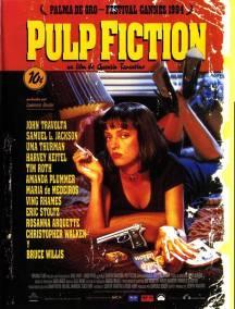 pulp fiction posyer