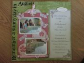 August 2013-making invitations with Pippa and Nicola
