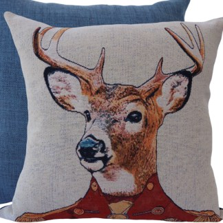 Stag Feature Cushion