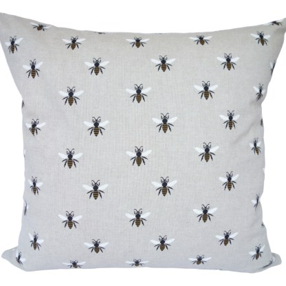 Bees design Scatter Cushion, home decor gift