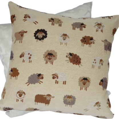Tapestry Sheep design Scatter Cushion