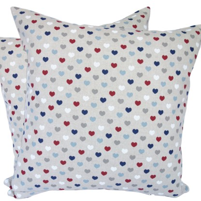 Hearts design Scatter Cushion