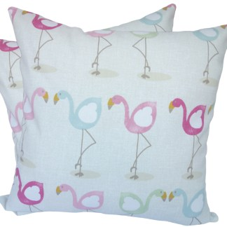 Character Flamingo design Scatter Cushion