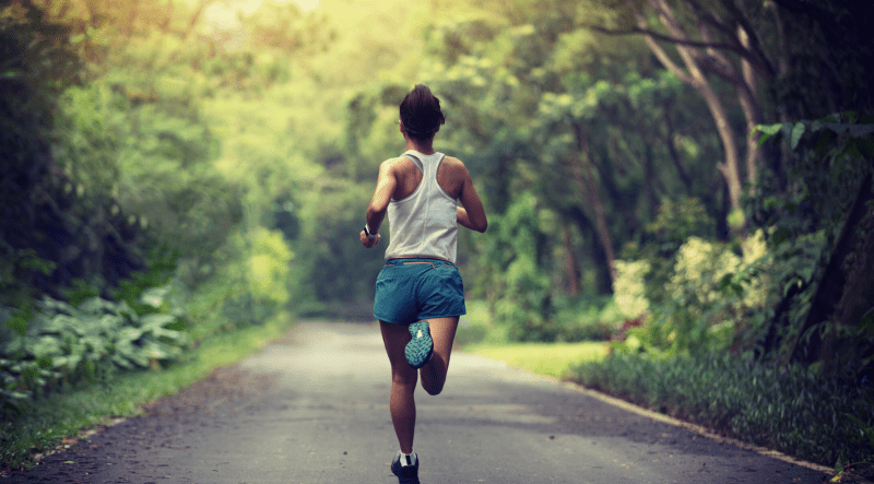 Running for mental well-being