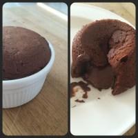 Molten Chocolate Fondant (Lava cake)