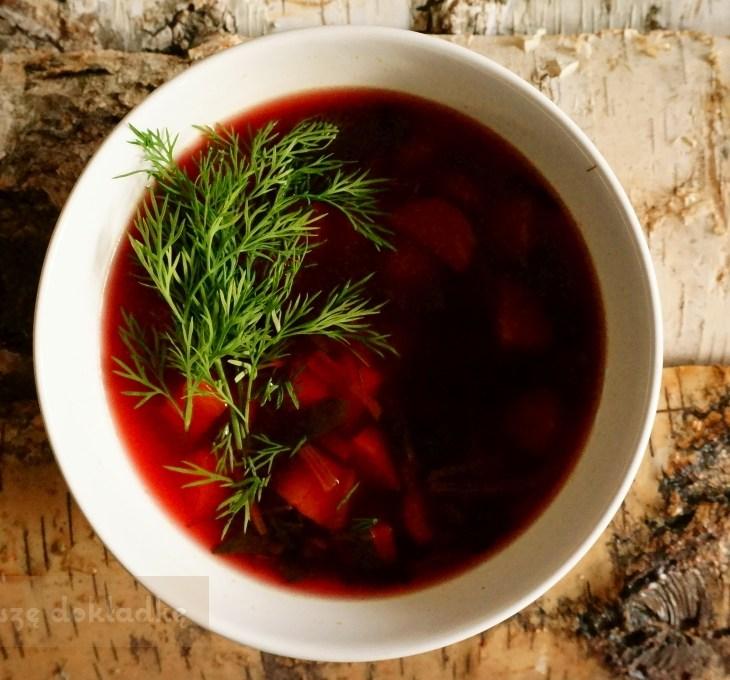 zupa z botwinki przepis