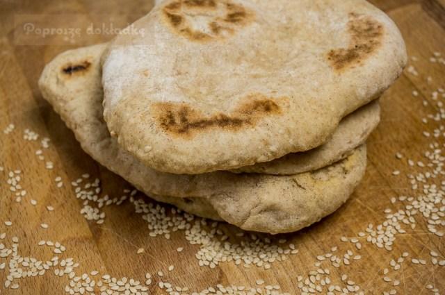 sezamowe chlebki
