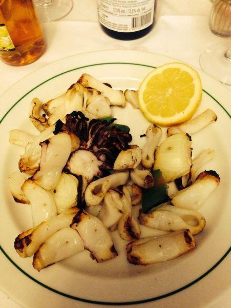 grillowane kalmary