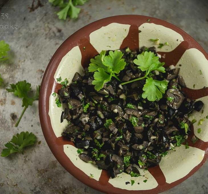 Tapenada z czarnych oliwek przepis