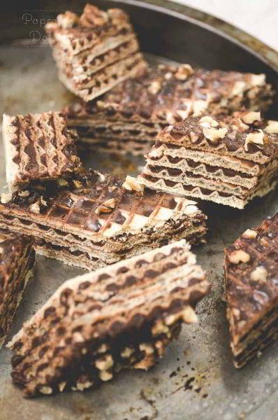 Pischinger - Wafel z masą kakaową przepis