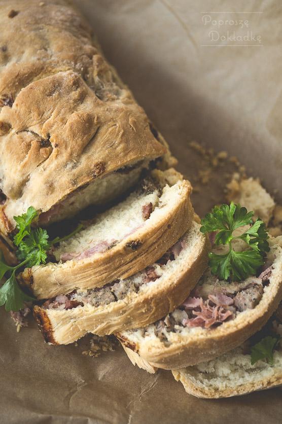 Murzin - chlebek nadziewany mięsem przepis