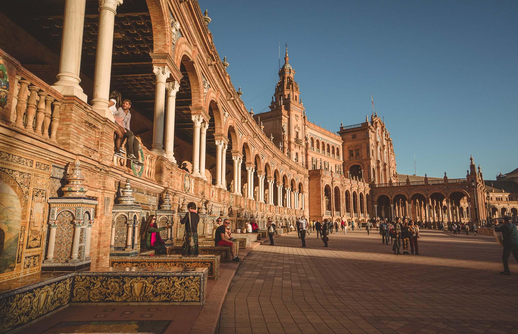 Sewilla - Plaza de España