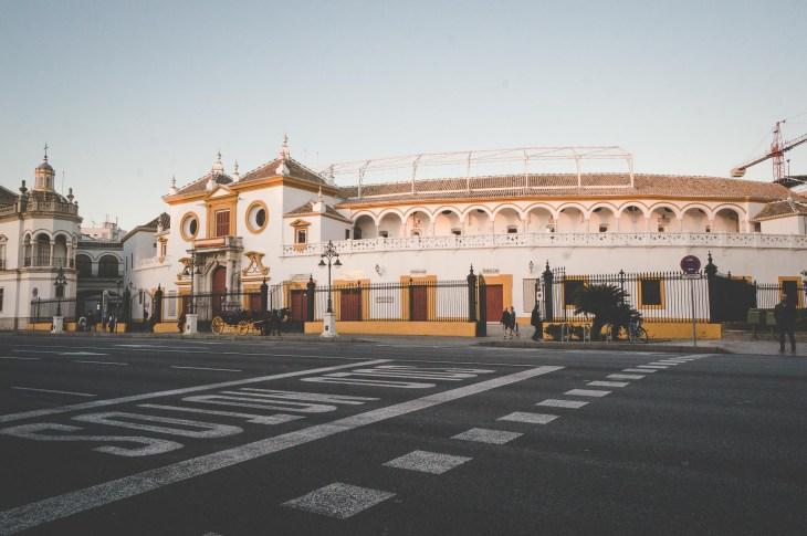Sewilla, La Plaza de Toros de la Maestranza - Hiszpania, Andaluzja