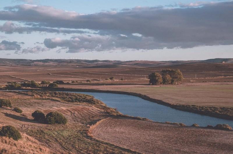 Conil - widok na rzekę Rio Salado