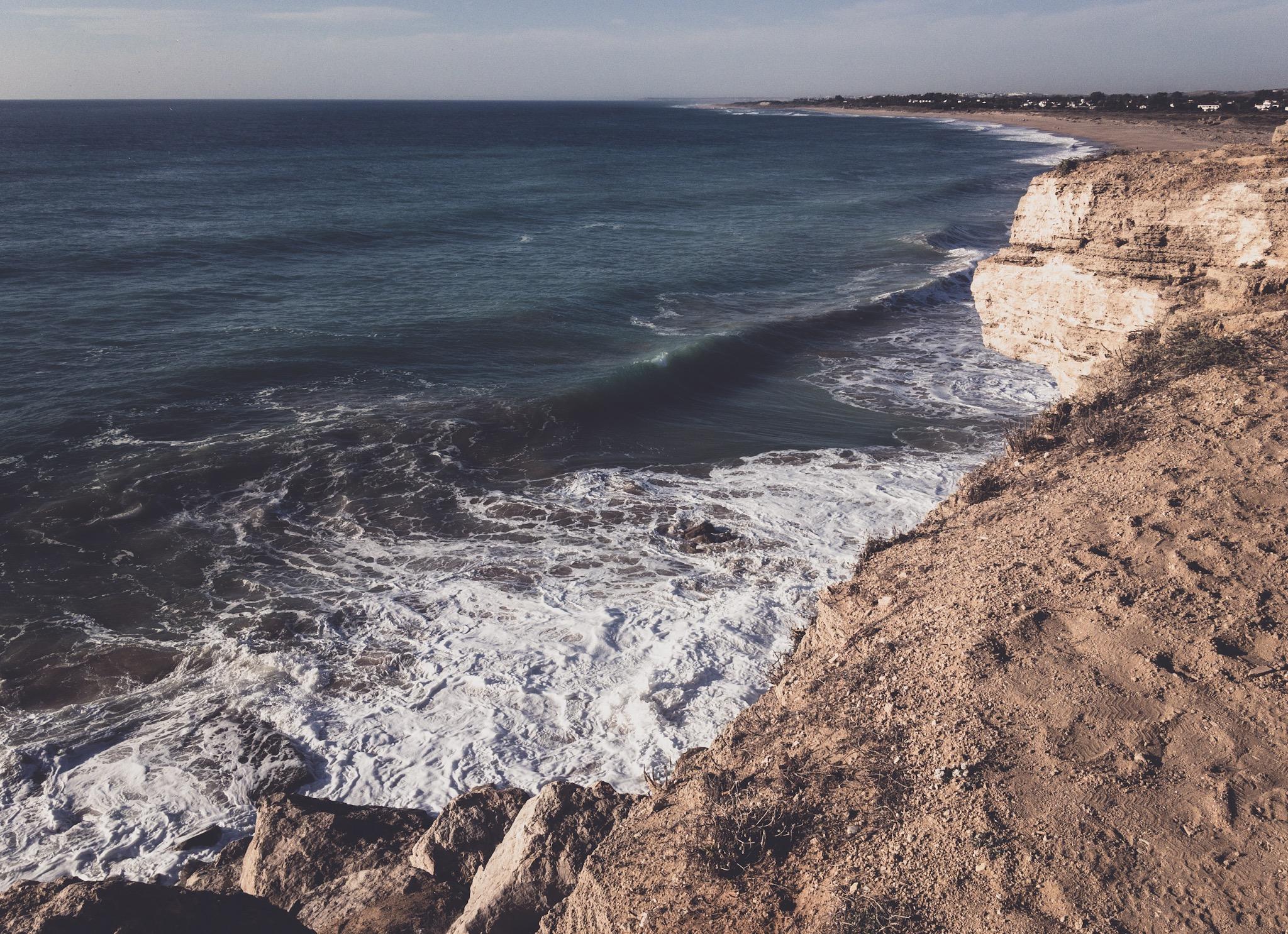 Cabo de Trafalgar, widok na Playa de Zahora