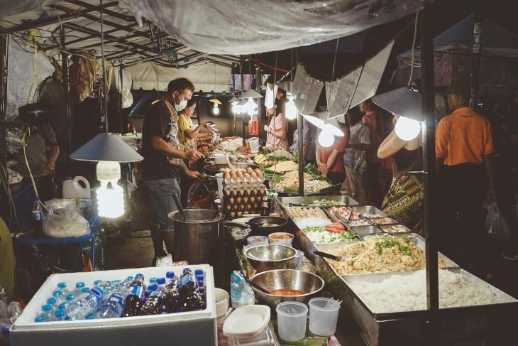 tajski street food