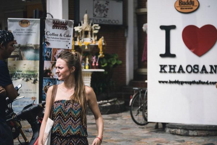 czy ja kocham Khao San Road?