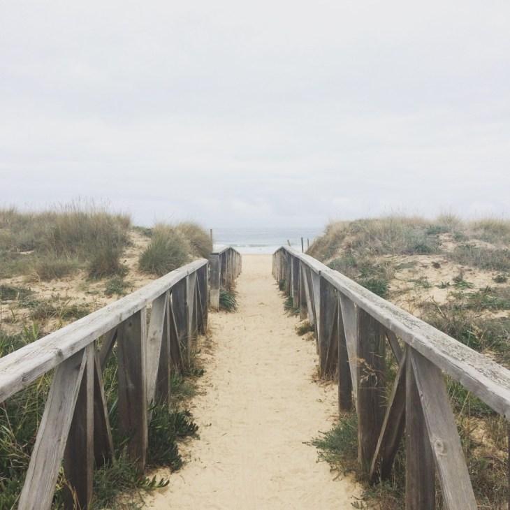 wejście na plażę w El Palmar