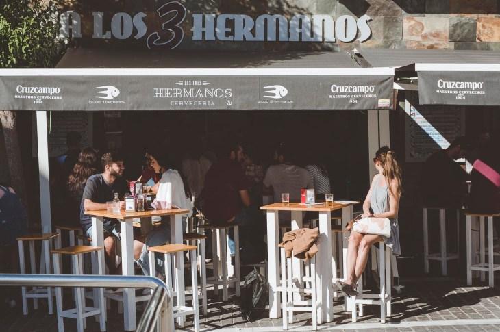 leniwy lunch w Tres Hermanos