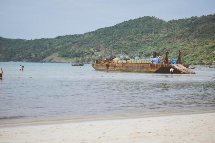 główna plaża na Phi Phi Don