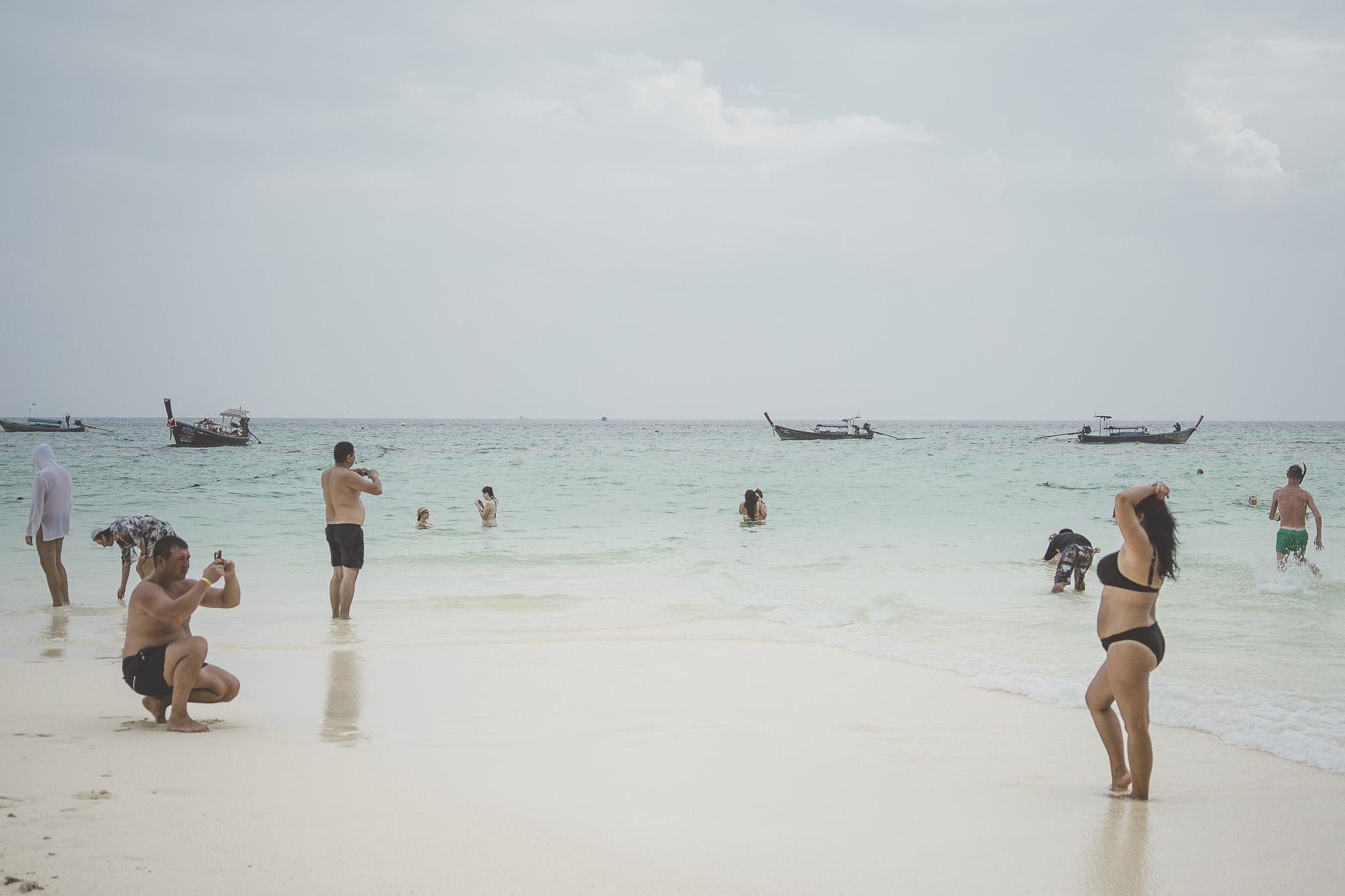 Plażowe ustawki