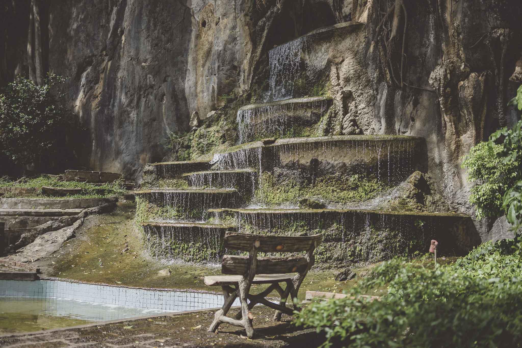 Fontanna w Tiger Cave