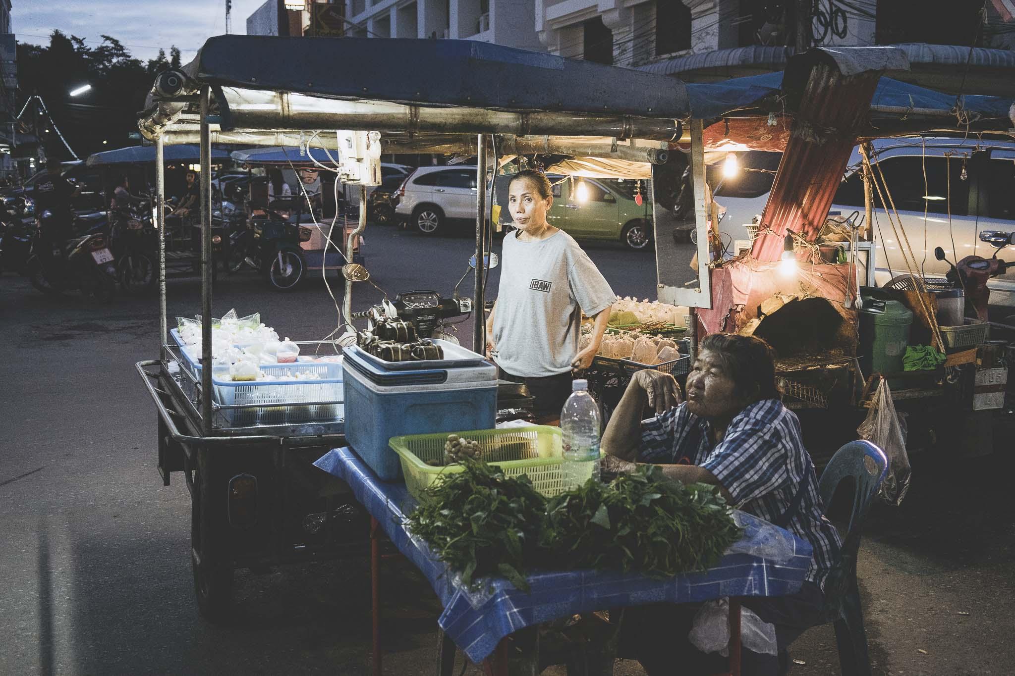 stoisko na City Market, Krabi Town