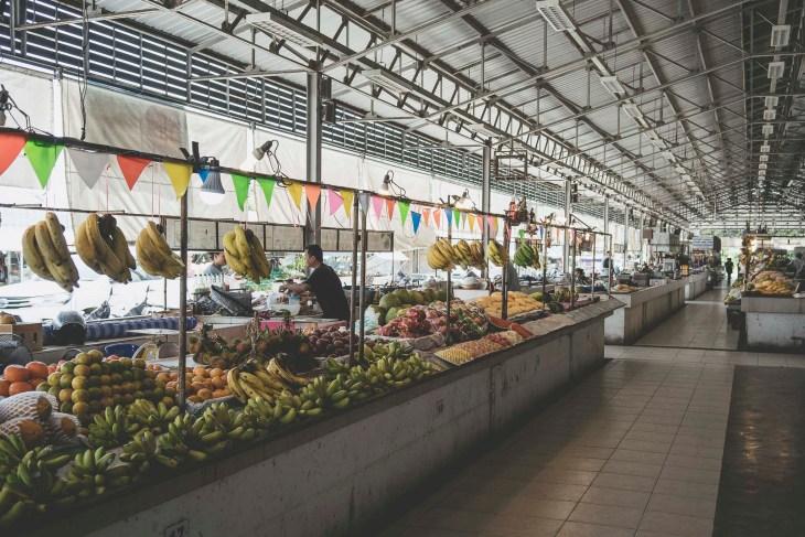 lokalny bazar w Bophut