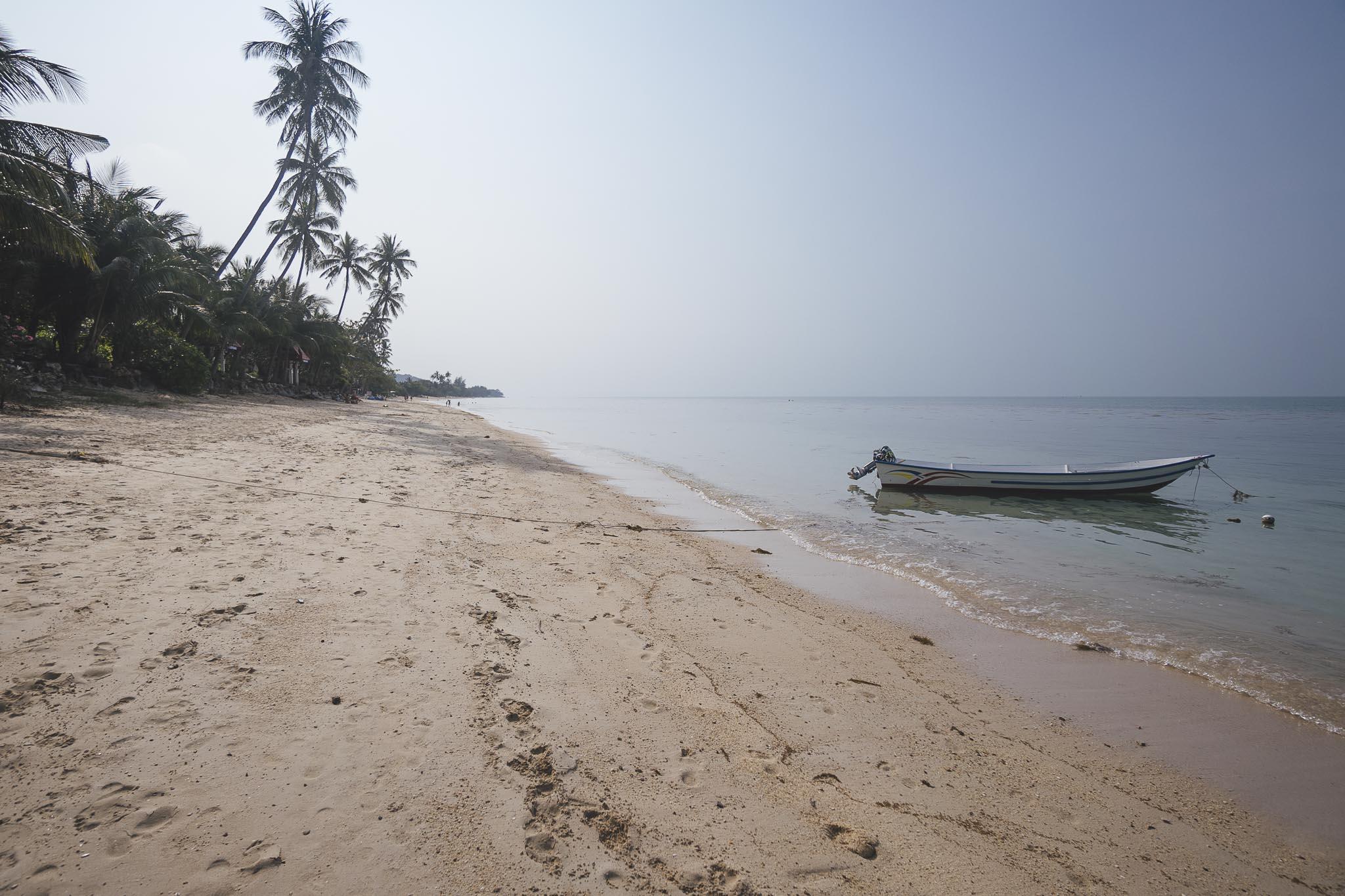 końcówka plaży Bang Po