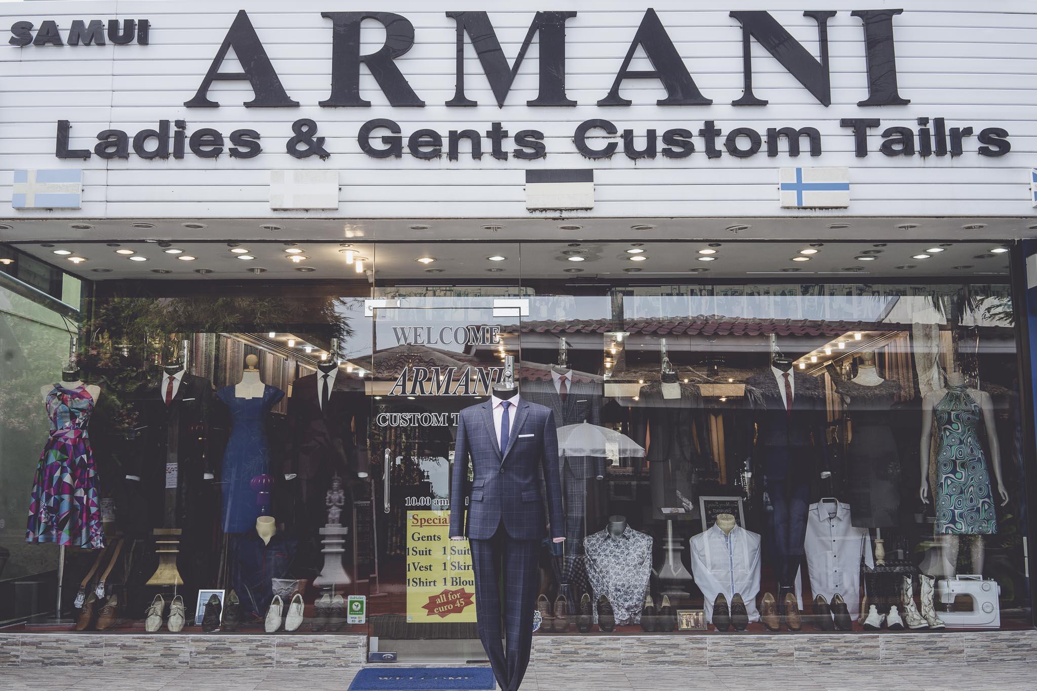 Armani, wiadomo