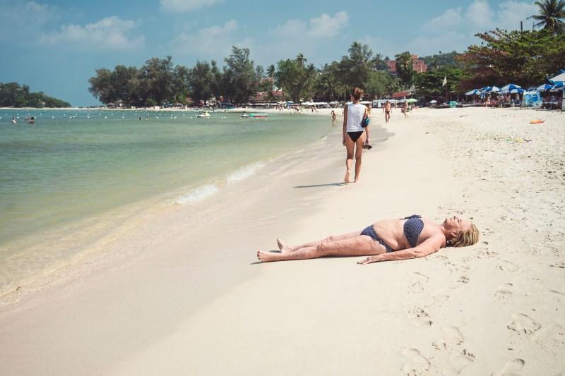 Plażing.