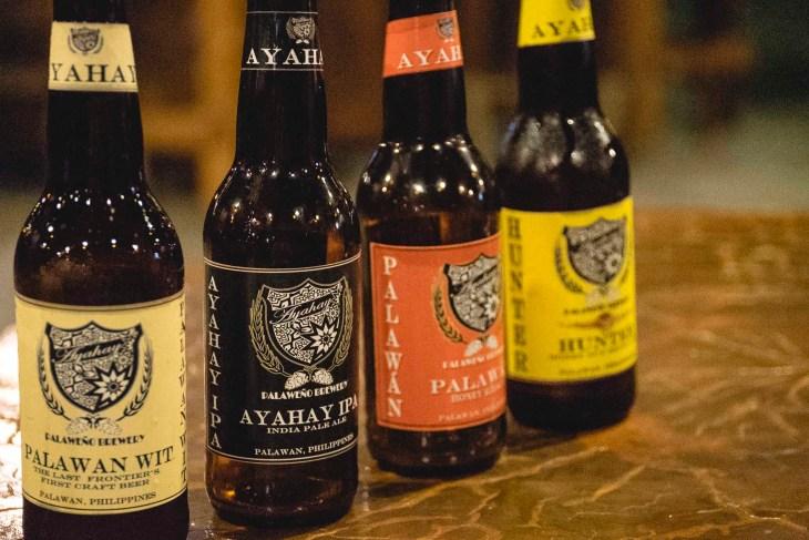 piwa z lokalnego browaru