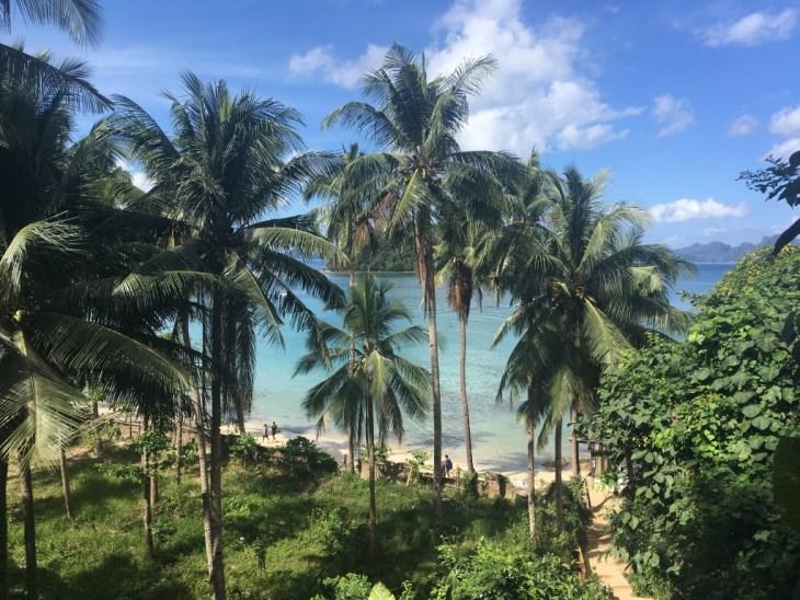 i Las Cabanas za dnia, wejście do raju