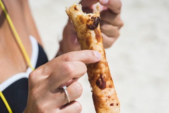 Pyszny turon, klasyka filipińskiego street foodu