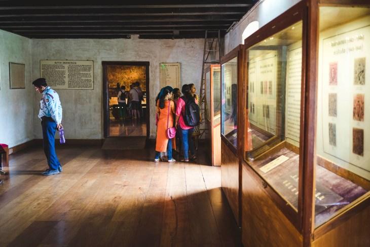Pałac Holenderski od środka, w muzeum