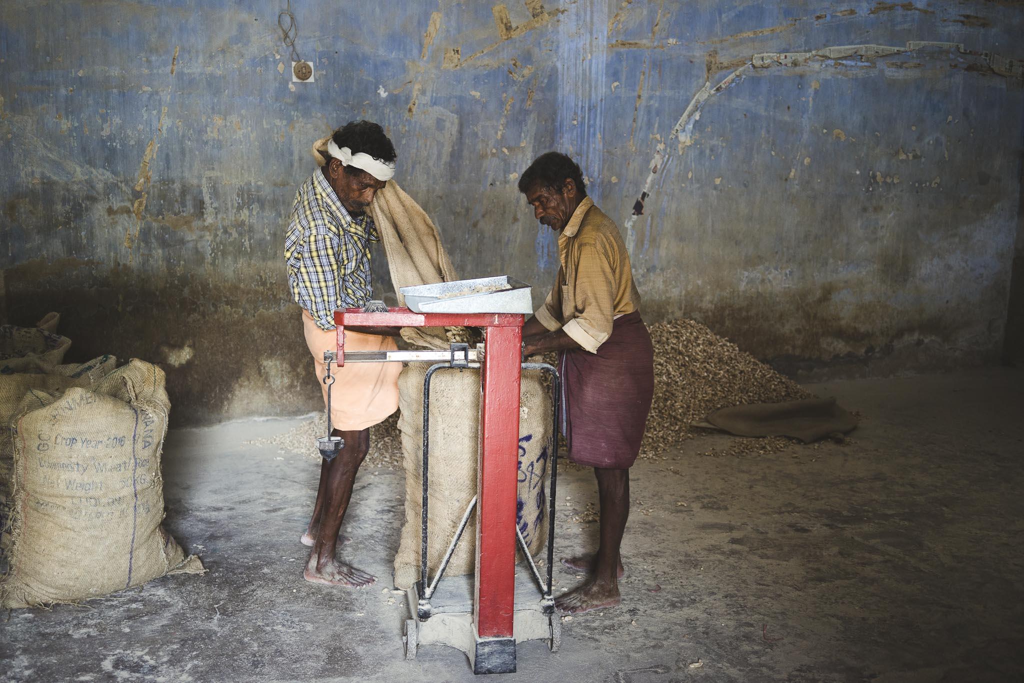 Magazynu imbiru, jedno z najbardziej pachnących i klimatyczncyh miejsc Fortu Koczi