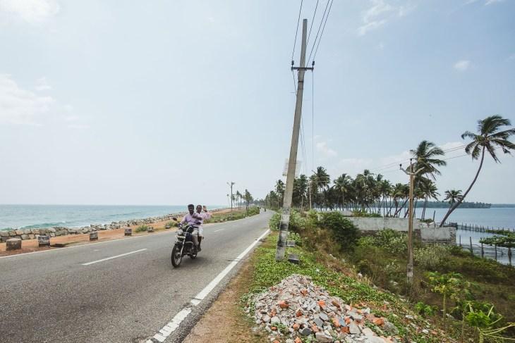 droga pomiędzy morzem i jeziorem