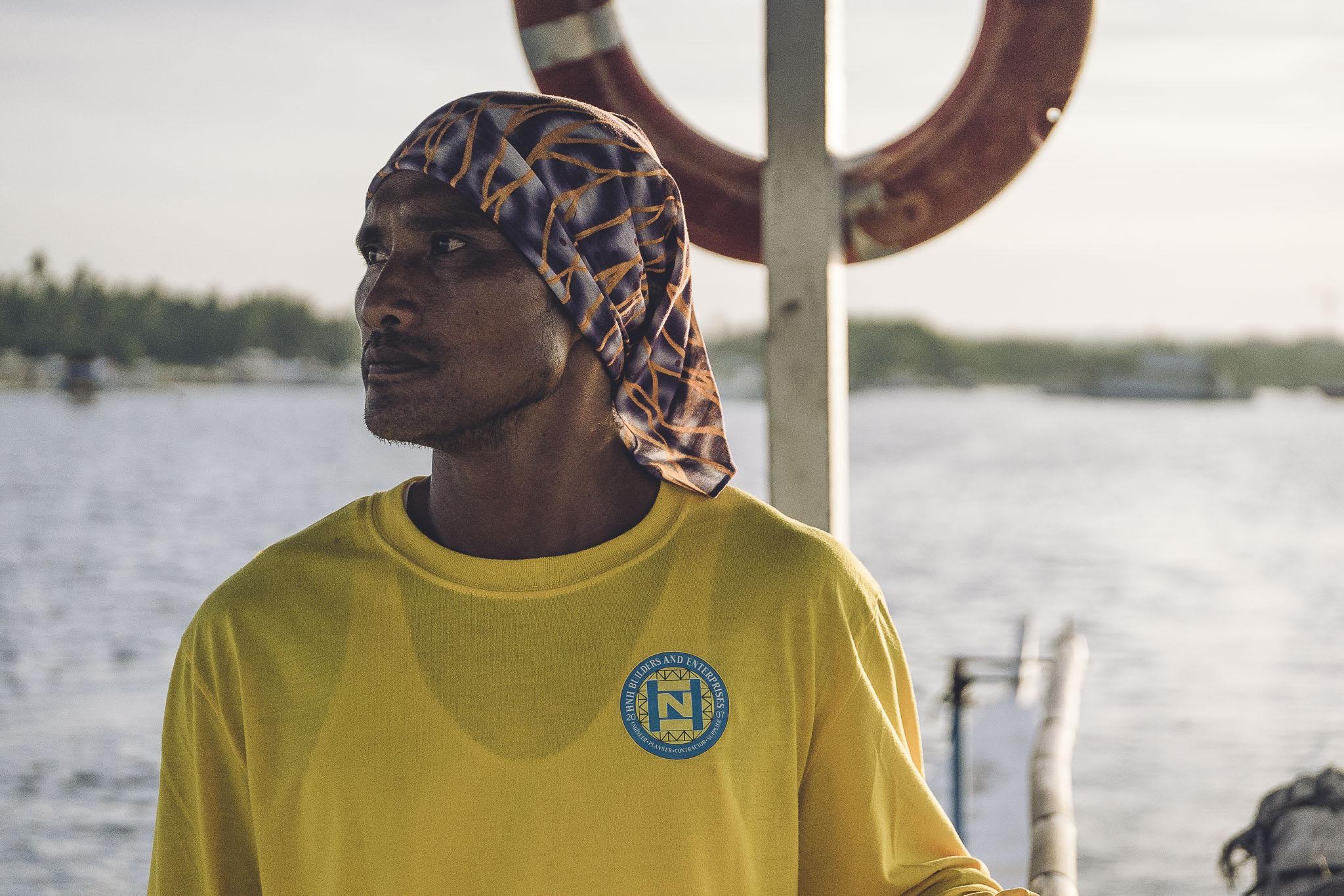 Kapitan łodzi, Filipiny, Panglao