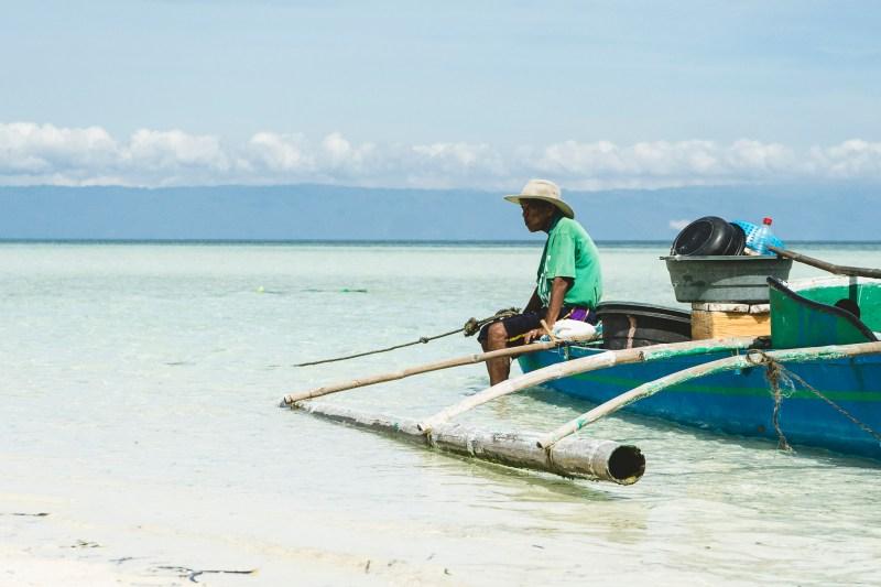 Obserwując turystów, Filipiny, Panglao, Virgin Island