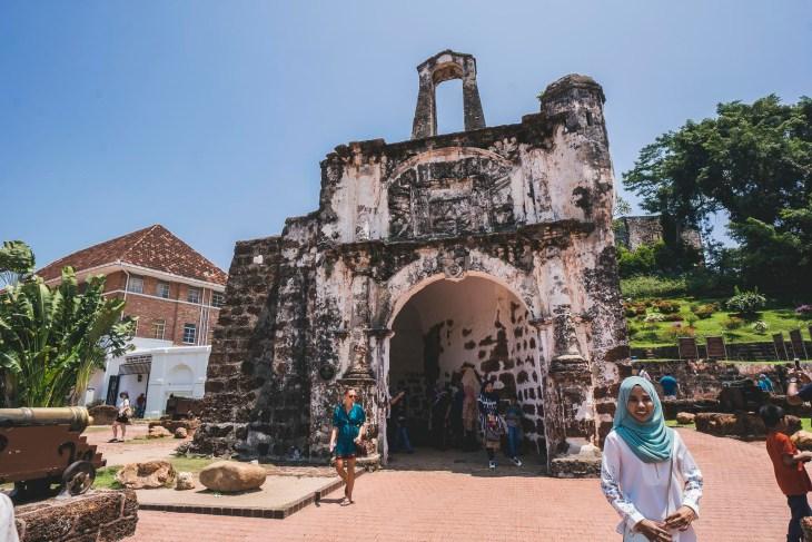 brama fortu Porta de Santiago