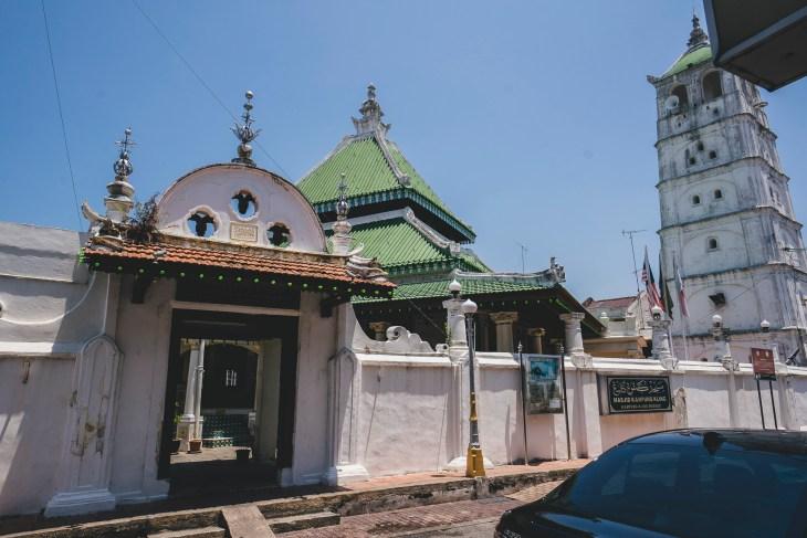 meczet przypominający raczej chińską świątynię