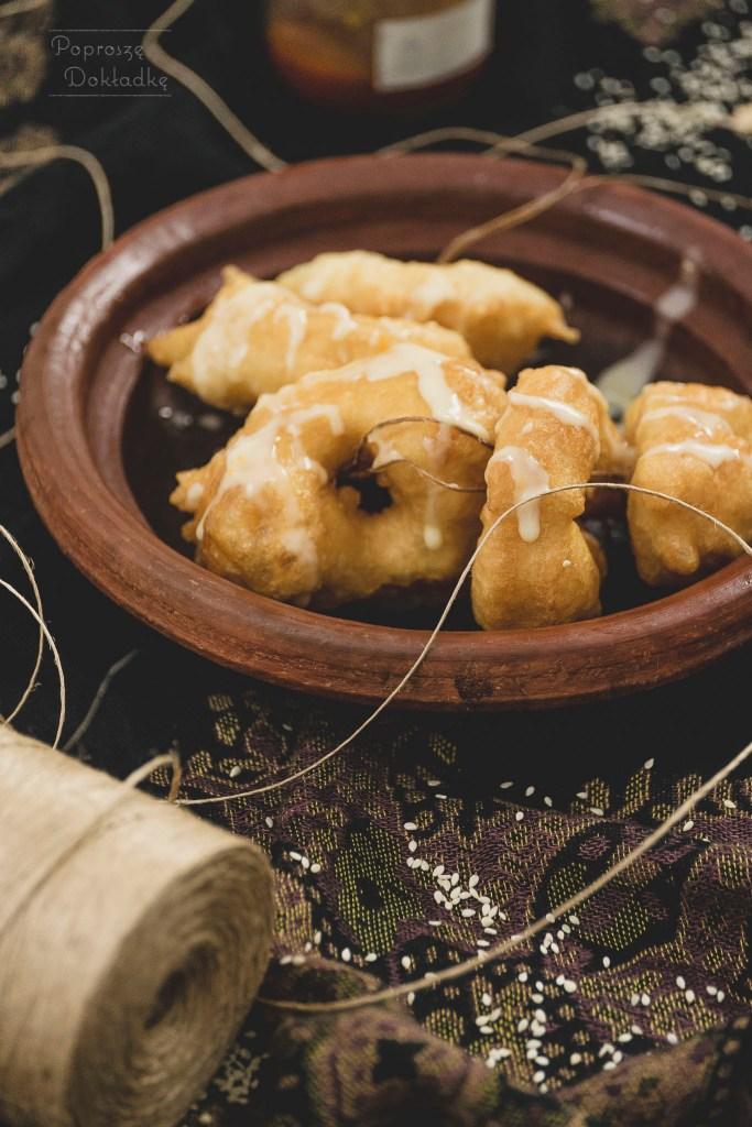 sfenj marokańskie pączki
