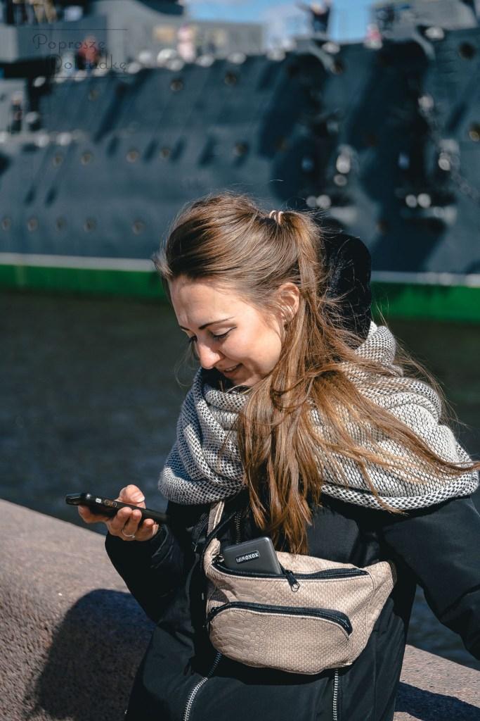 XOXO WiFi bez problemu mieści się nawet w torebce nerce, więc jego podręczność jak najbardziej się sprawdza