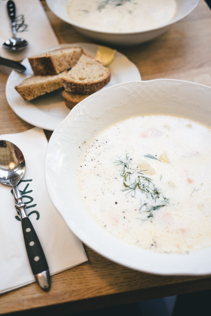 creamy salmon soup, czyli obłędna zupa z łososia