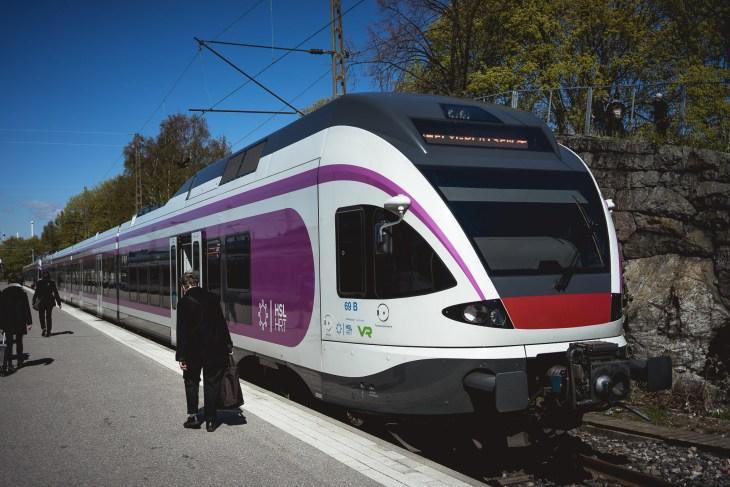 szybkie fińskie pociągi