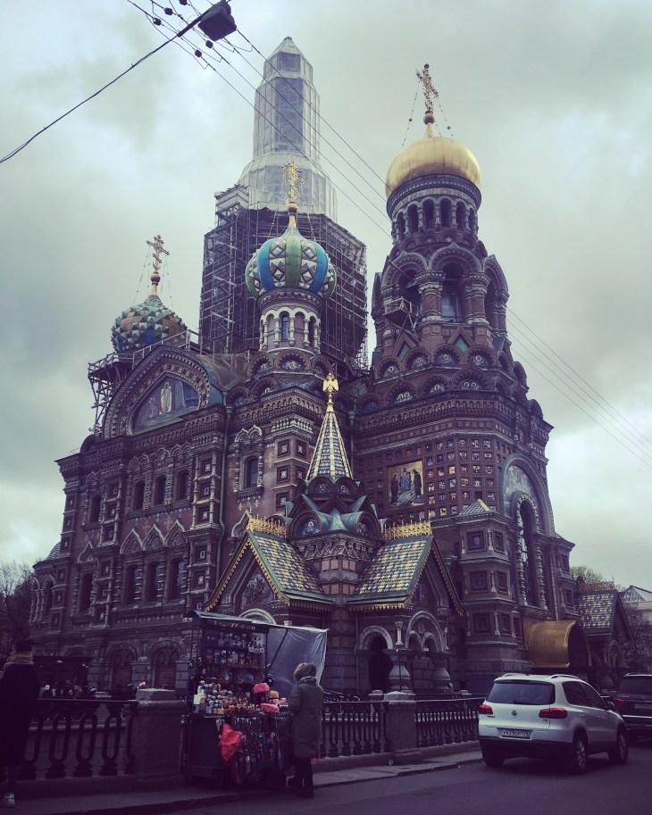 bajkowa Cerkiew na Krwi